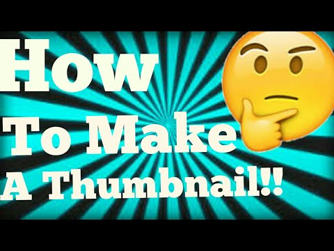 How To Make A Thumbnail On Android 🤔✏