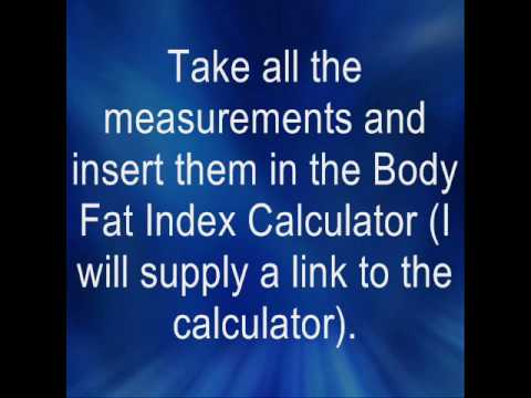 How To Calculate Your Body Fat Index