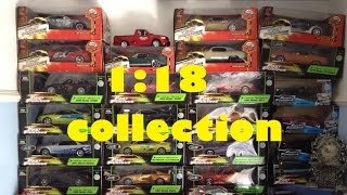 Fast & Furious Diecast 1:18 collection Nov 2016
