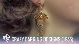 1950s Novelty Earrings - Bizarre Designs