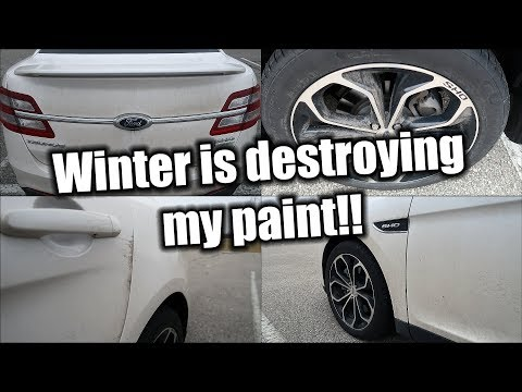 Winter is DESTROYING my paint!!! Ceramic coating time?