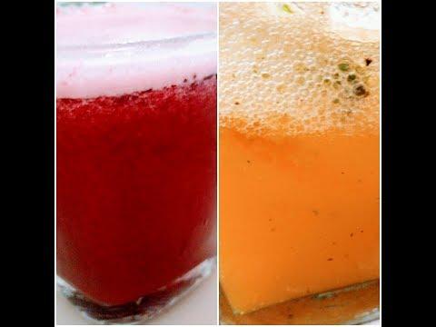 2 Easy Homemade Soda Drinks Recipe | Orange soda and strawberry soda recipe | Episode 57