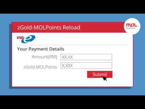 How to Reload zGold-MOLPoints via Public Bank Internet Banking?