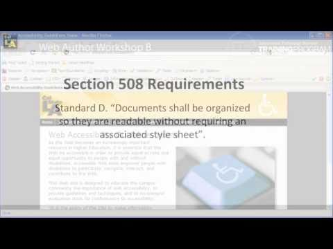 Disabled Style Sheets And Maintain Page Readability: Web Accessibility Manual Checks