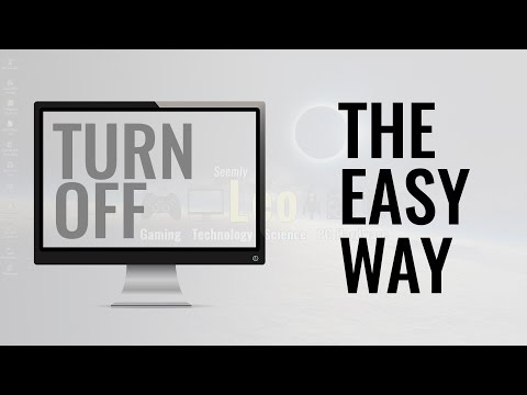 How to turn off your monitor with a keyboard shortcut