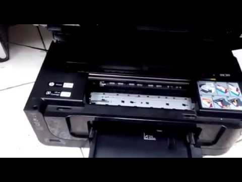 Replacing Printhead on HP Officejet Printer 6500A,7500A