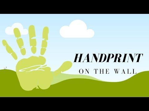 ASMR / HANDPRINT ON THE WALL