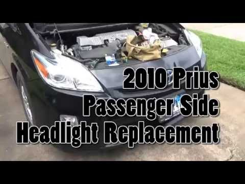 2010 Prius Passenger Side Headlight Replacement