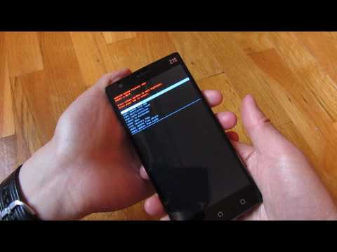 ZTE ZMax 2 - How to Boot to Recovery Mode