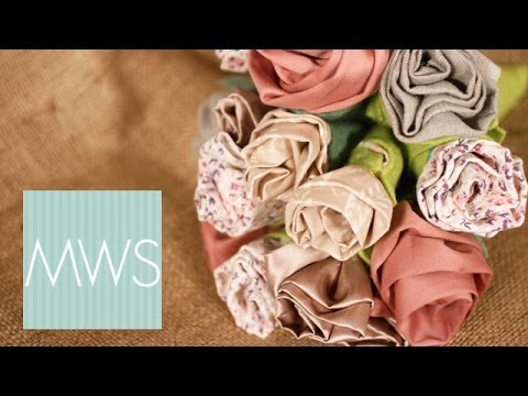 Fabric Flower Bouquet: Maid At Home 2