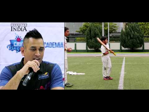 MS Dhoni Academy in Singapore - Encouraging kids to play sport they love