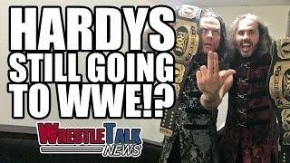Wrestlemania 33 Match Back On? Matt & Jeff Hardy Still Going To WWE!?   WrestleTalk News Mar. 2017