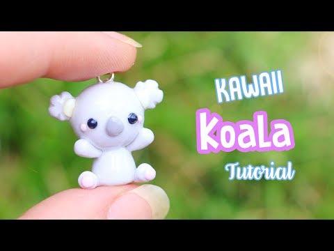 Kawaii Koala│Polymer Clay Tutorial