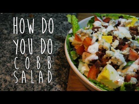 How to make CLASSIC COBB SALAD Recipe [How Do You Do]