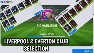 Got Richarlison & Van Dijk from Liverpool & Everton Club Selection || Pes 2020 Mobile