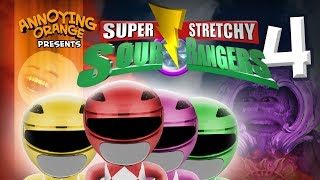 Annoying Orange - Sour Rangers 4! (ft. Ciara Hanna from MegaForce)