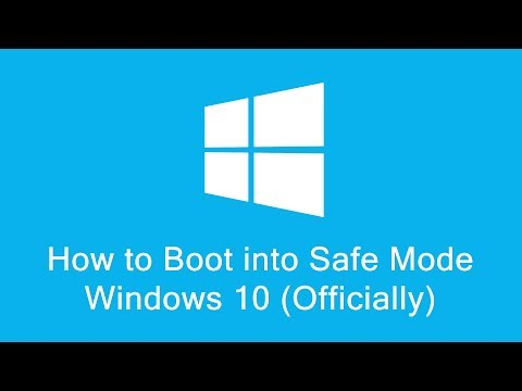 How to Boot into Safe Mode Windows 10 (Official Video for Windows)