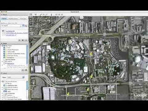 Using Google Earth to find location