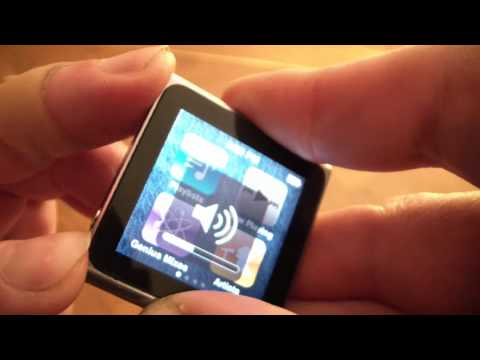 How To Fix A Frozen ipod Nano 6th Generation
