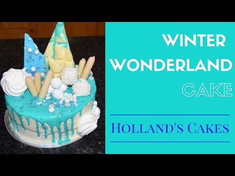 Winter Wonderland Cake❄ | Holland's Cakes