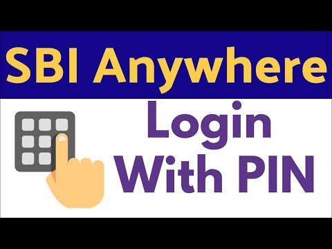SBI Anywhere - Login With PIN (Without Password)