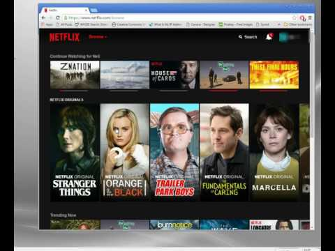 Using a Proxy for Netflix