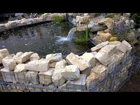 DIY Pond water fall