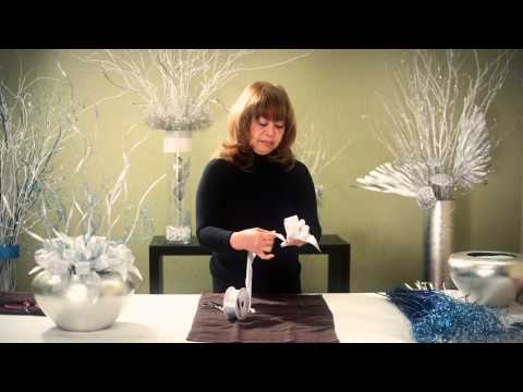 How To Make Bows For Floral Arrangements
