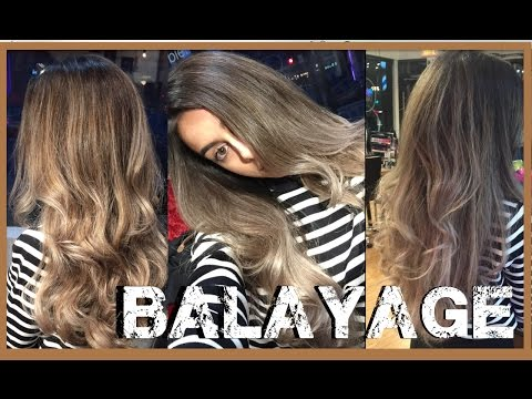 Watch me get ASH BLONDE BALAYAGE OMBRE // Emilie Maggie