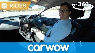 Dacia Duster 360 degree video test drive   Mat Watson Reviews