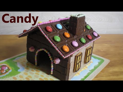 DIY Chocolate House Kit 🍫 Sweets Decoration