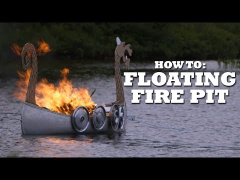 The Ultimate FLOATING Fire Pit