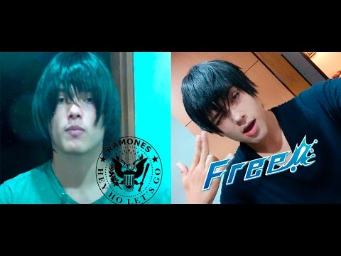 「Tutorial」Long wig to short wig Cosplay - black short hair male characters