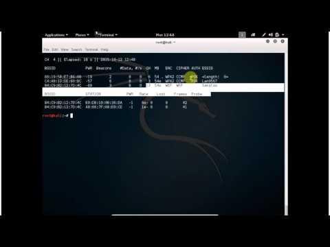 how get hidden SSID
