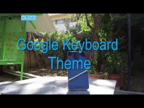 Google Keyboard Theme (Greek)