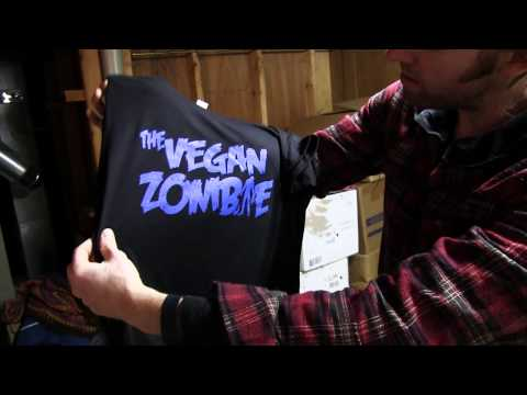 Screen Printing Shirts | The Vegan Zombie Designs