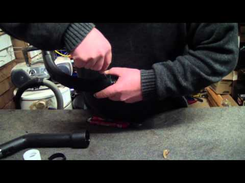 How To Repair A Vacuum Handle - Don't just use tape!