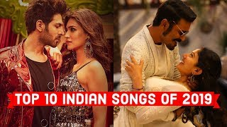 Top 10 Indian Songs of 2019 | 2019's Most Viewed Indian/Bollywood Songs on YouTube