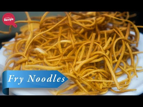 How To Make Fried Noodles | Chinese Snack | Home Cooking