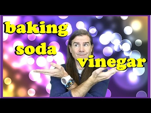 Men's Long Hair: Baking Soda and Apple Cider Vinegar