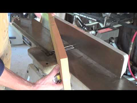 How To Setup and Use a Jointer