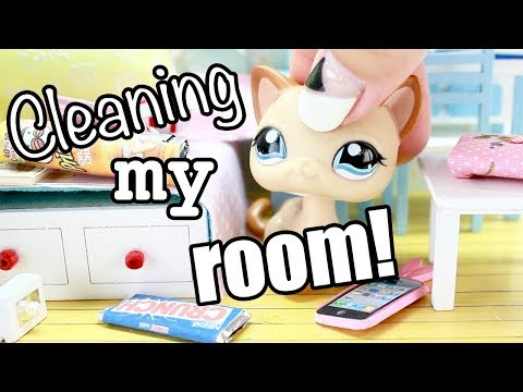 LPS - CLEANING MY ROOM! (FUNNY SKIT)