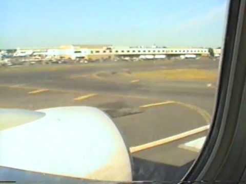 TWA Landing in JFK New York City in August 1999