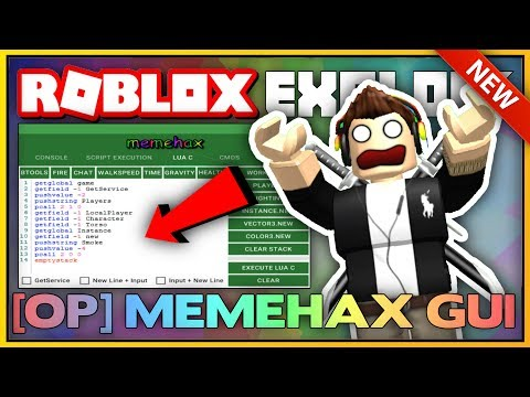 NEW ROBLOX EXPLOIT: MEMEHAX DEMO (PATCHED) SCRIPT EXECUTION & LVL 7