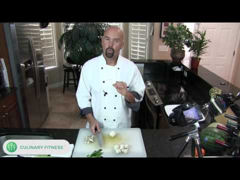 Cutting Mushrooms | Chef Dennis Berry | Culinary Fitness | Healthy Cooking Videos