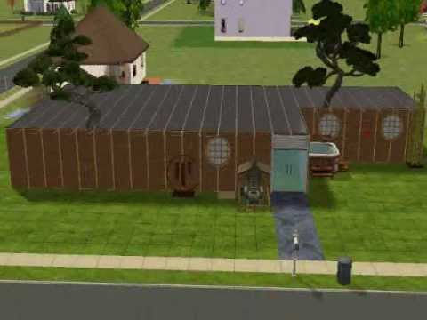 The Sims 2 Simple Asian Inspired House