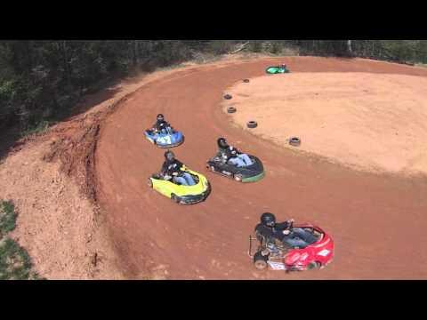Go-Kart Racing! DRONE EDITION!