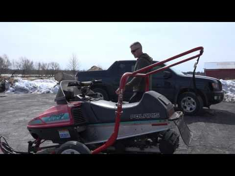 Will seafoam fix my boggy snowmobile?  Bog series #7  Polaris indy lite.