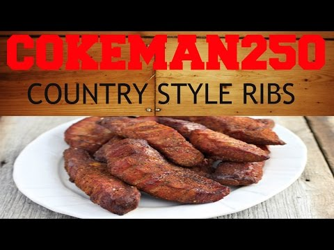 Electric Smoking Country Style Ribs