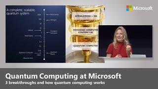 Quantum Computing - Top 3 Microsoft Breakthroughs with Krysta Svore